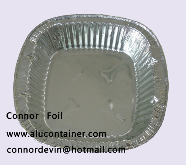 aluminium foil food tray,compartment aluminum foil tray