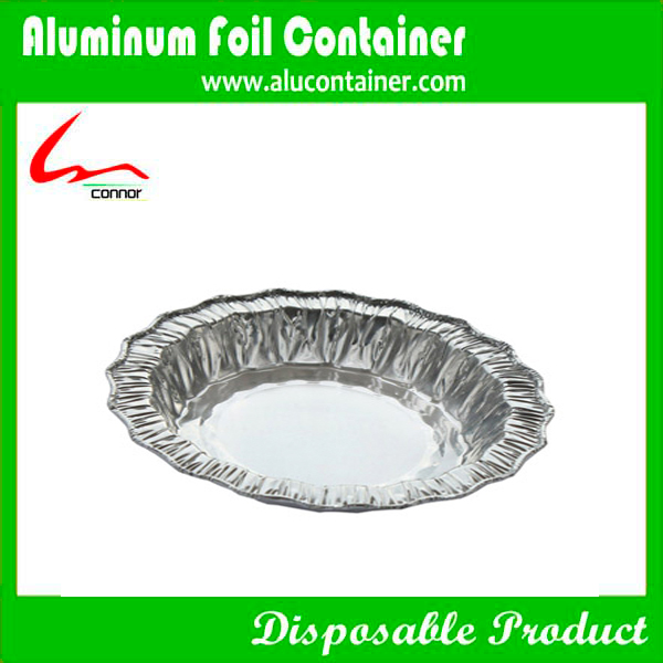 Flower Shape Foil Round Pan