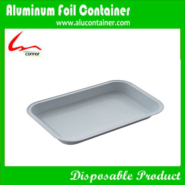Rectangular Aluminum Foil Container For Airline