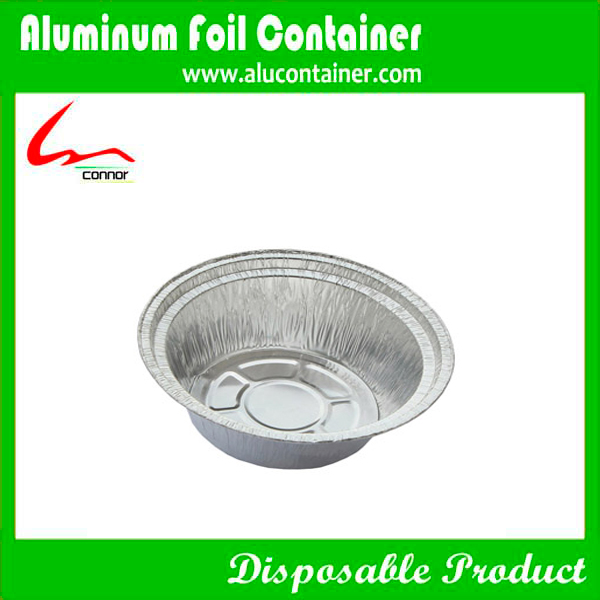 Disposable  Aluminum Foil Round Carry Out  Pan  For Restaurant