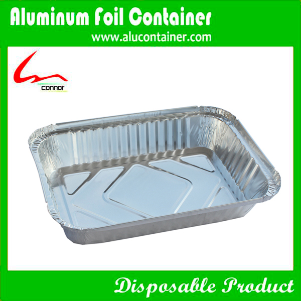Supply Disposable Aluminum Foil Container With Lids(SGS Certificate)