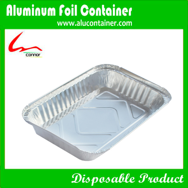 Disposable rectangular aluminum foil containers for food for Aluminum cuisine
