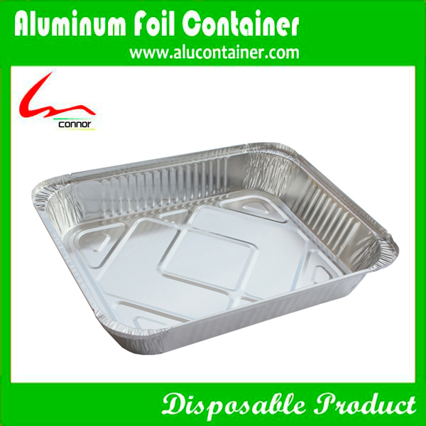 Aluminium Foil Pan  With Lids For Restaurant
