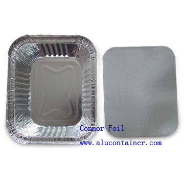 Paper Lids for Aluminum Foil Food Containers