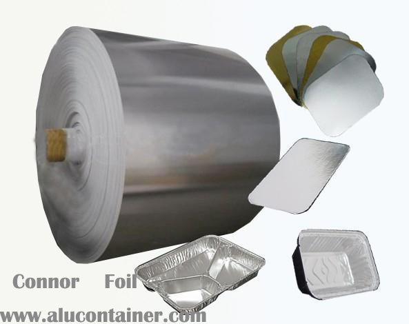 Aluminum Foil Cardboard Lids For CarryOut Containers