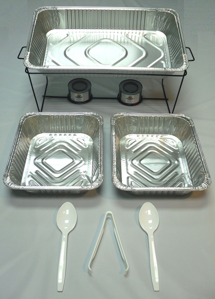 Buffet Chafer Chafing Serving Kit