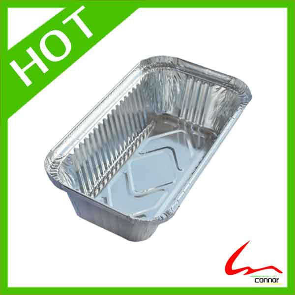 Aluminium Foil Rectangle Takeout Pan With Lids No6A