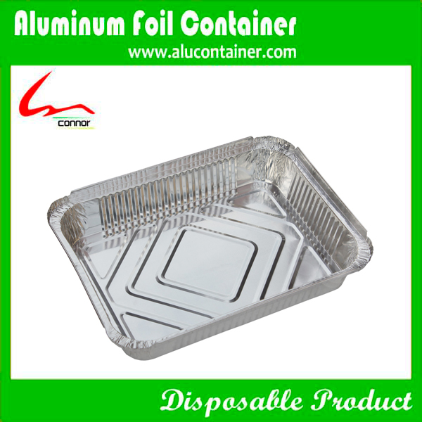 Aluminium Foil Rectangle Pan With Lids